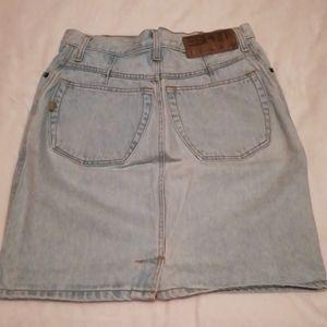 Esprit Jean skirt, vintage, 11/12